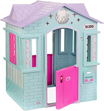 Little Tikes L.O.L. Surprise! Winter Disco Playhouse with Disco Ball and Inflatable Chair