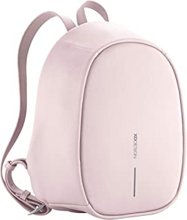 XD-Design Bobby Elle Fashion Anti-Theft Backpack with Hidden Zippers & Hidden Pockets (Pink)