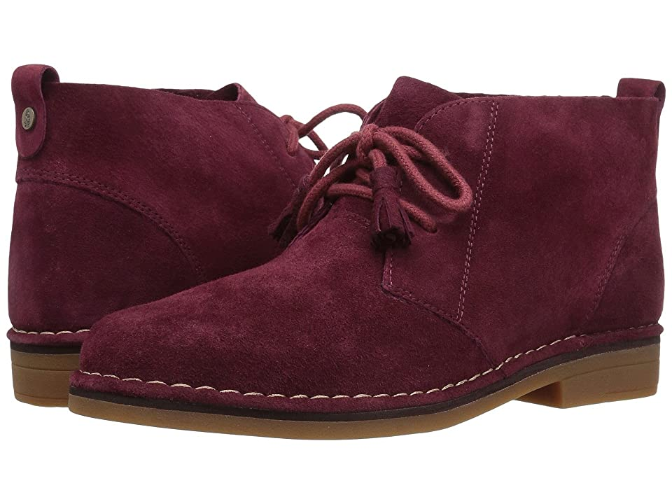 Hush Puppies Cyra Catelyn (Burgundy Suede) Women