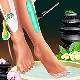 Esteticista de las piernas y de vestir : Un juego para las niñas y para todos los esteticistas !