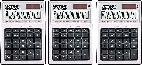 """$99 » 99901 TuffCalc Calculator, White, 1.8"""" x 4.6"""" x 6.5"""" (Thrее Расk)"""