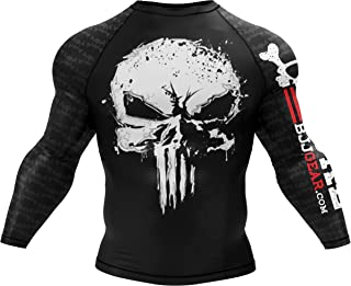 No Gi BJJ Compression Rash Guard & Spats for Jiu Jitsu, MMA, Grappling and Wrestling. Long Sleeve and Short Sleeve