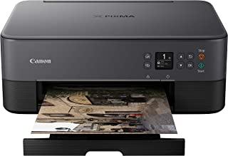 Canon TS5320 All In One Wireless Printer, Scanner, Copier with AirPrint, Black, Amazon Dash Replenishment Ready