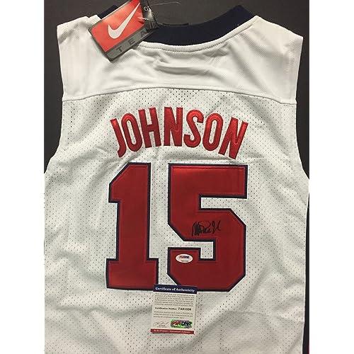 best website db433 6d47a Magic Johnson Jersey: Amazon.com