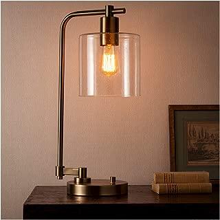 Hudson Industrial Table Lamp - Ebony - Threshold