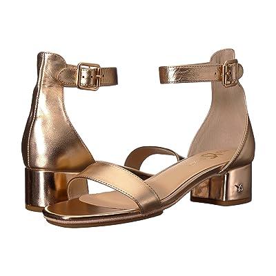 Yosi Samra Daniel (Rose Gold Metallic Leather) Women