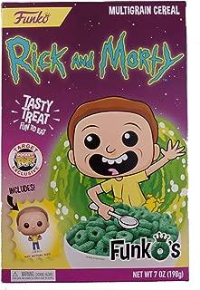 Adult Swim Funko FunkO's Rick and Morty Multigrain Cereal
