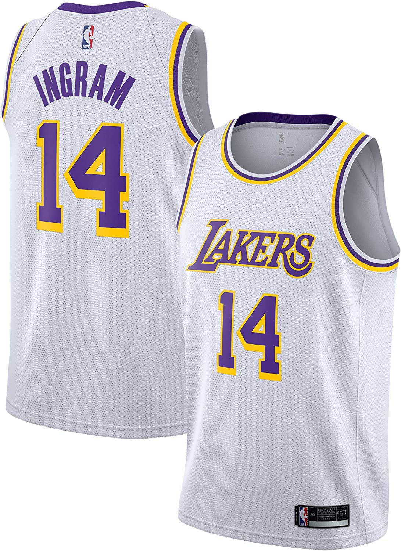 Amazon.com: Kyle Kuzma Los Angeles Lakers #0 Youth 8-20 White ...
