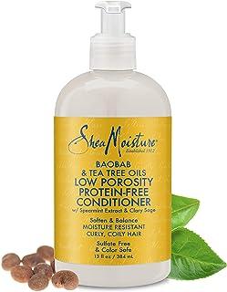 Shea Moisture Baobab and Tea Tree Oils Low Porosity Protein-Free Shampoo, 396 ml