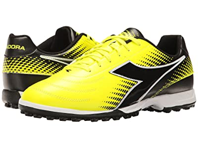 Diadora Mago R TF (Yellow Flourescent/DD Black) Men