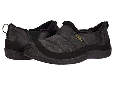 KEEN Kids Howser II (Little Kid/Big Kid) (Black/Keen Yellow) Boy