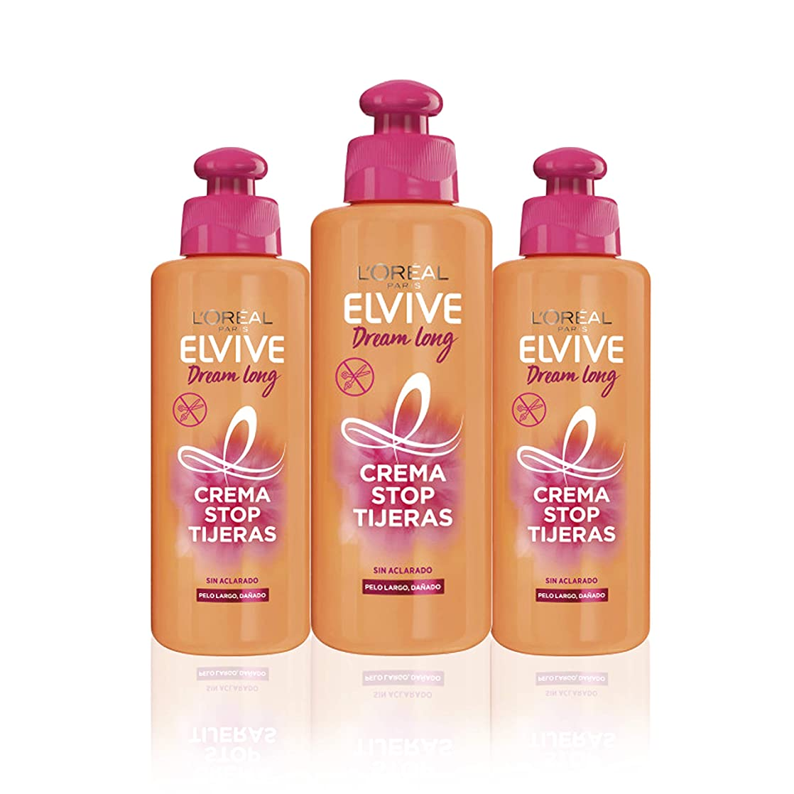 宮殿検索エンジンマーケティング確実Elvive Dream Long - 3コンテナクリーム、ストップハサミ600 ml