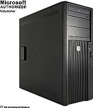 2018 HP Z200 Gaming TW Intel Core I5-650 Upto 3.46G, 16G DDR3, 120G SSD+2T, DVD, New GTX 1050 2G, DP, HDMI, DVI,W10P64 (English/Spanish/French)(CI5)(Renewed)