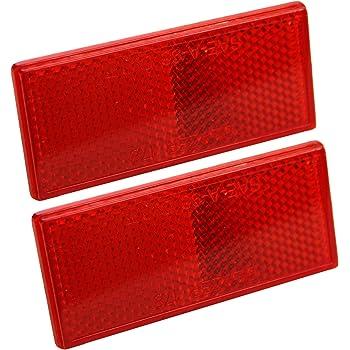 """Lot of 12 Everbilt 48/"""" Driveway Marker Red Reflectors 659944"""