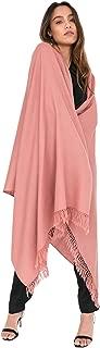 likemary Merino Blanket Scarf Wrap - Womens Travel Blanket Pashmina Shawl Oversize 100% Pure Wool - Ethical Gift Handwoven Kasa