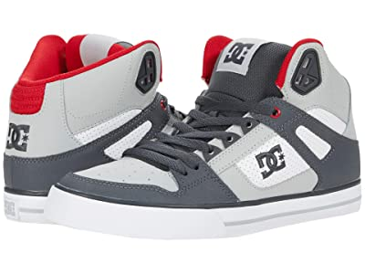 DC Pure High-Top WC (Grey/Red/White) Men