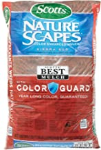 Scotts 88402440 2 Cu Ft Sierra Red Nature Scapes Color Enhanced Mulch