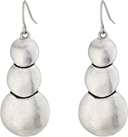 The Sak Layered Circle Drop Earrings