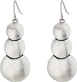 The Sak - Layered Circle Drop Earrings