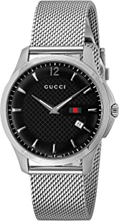 Gucci Watch G Timeless Black Dial Ya126308