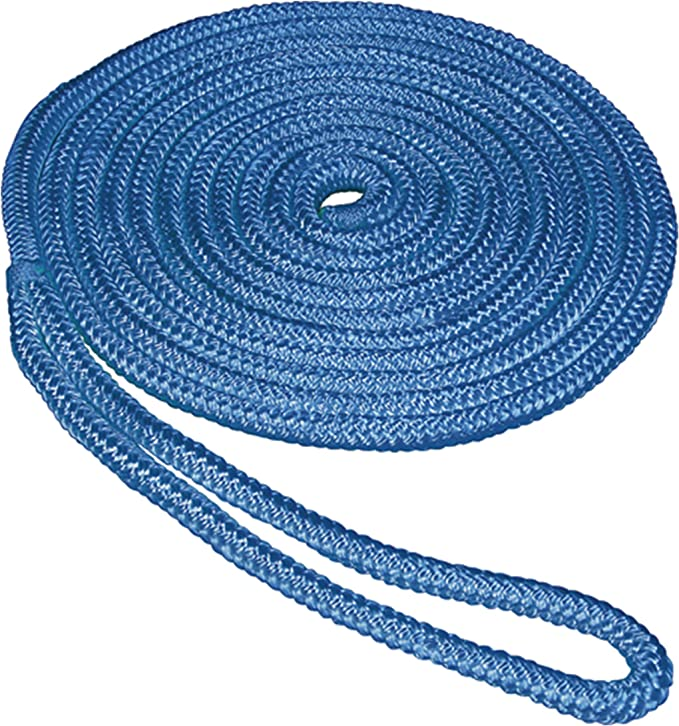South Bend Rope Double Braid Nylon Dock Line