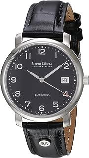 Bruno Söhnle Men's Quartz Watch with Time Analogue Quartz Leather 17–13016–723