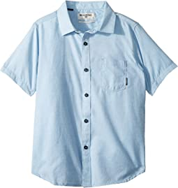 Billabong Kids - All Day Helix Short Sleeve Woven Top (Big Kids)