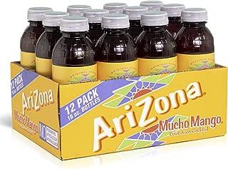 Arizona Tea | Premium Brewed Bottled Tea | 12-Count | 16-Ounce (Mucho Mango)