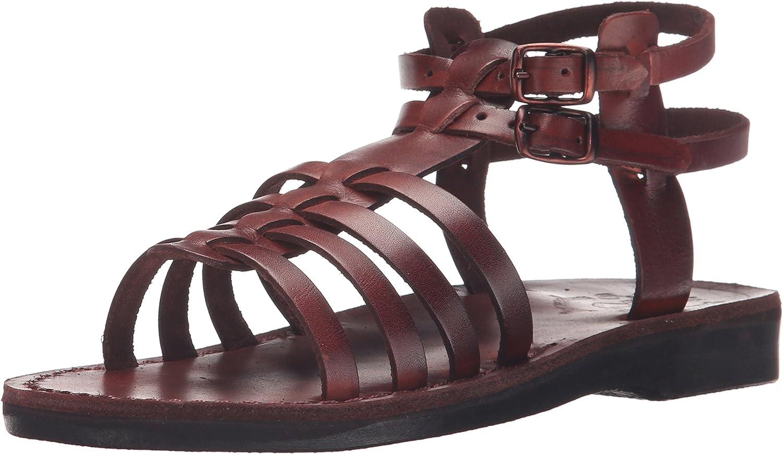 Jerusalem Sandals Womens Leah Gladiator Sandal