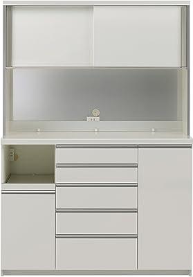 パモウナ 食器棚 幅140×高さ203×奥行45 日本製 KGL-S1400R