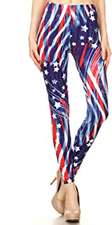 Women's Regular Plus (XS-3XL) Printed High Waist Ultra Soft Always Leggings - Many Patterns