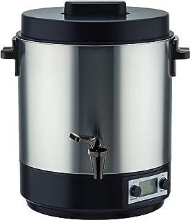Stérilisateur électrique inox 31 litres 2100 W REDWOOD avec affichage digital LCD et Robinet Température réglable et timer
