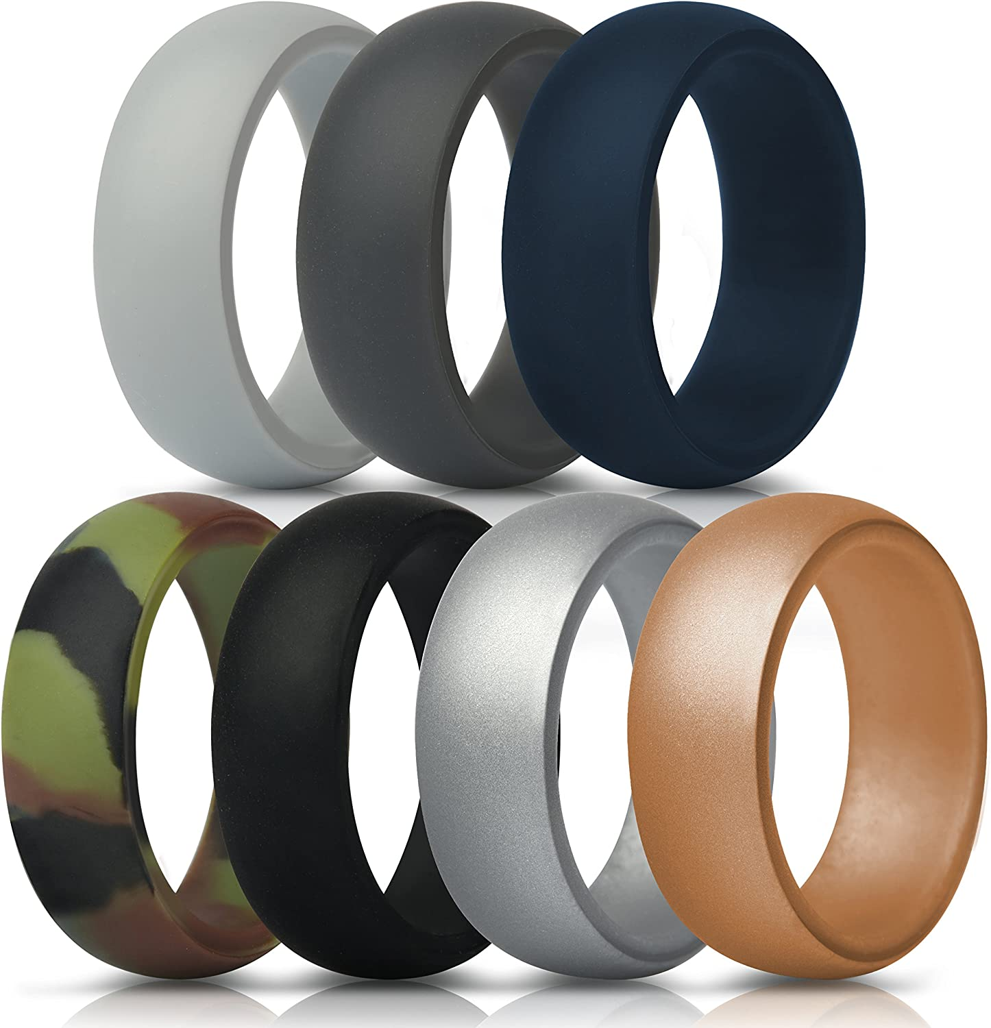 security ThunderFit Silicone Wedding Rings for Rubber Arlington Mall - Men Bands