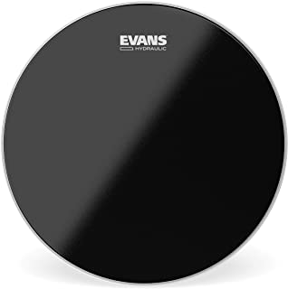 Evans Hydraulic Black Drum Head, 14 Inch