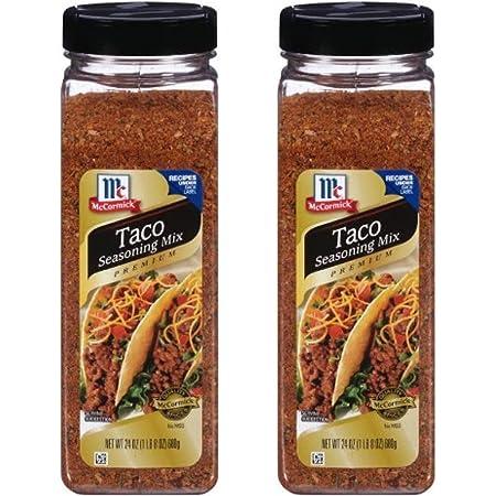 Amazon Com Mccormick Original Taco Seasoning Mix 24 Oz Pack Of 2 Grocery Gourmet Food