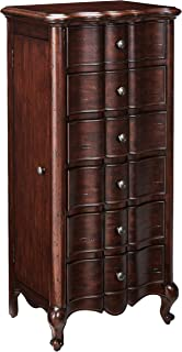 Hooker Furniture French Jewelry Armoire, Mahogany Veneer