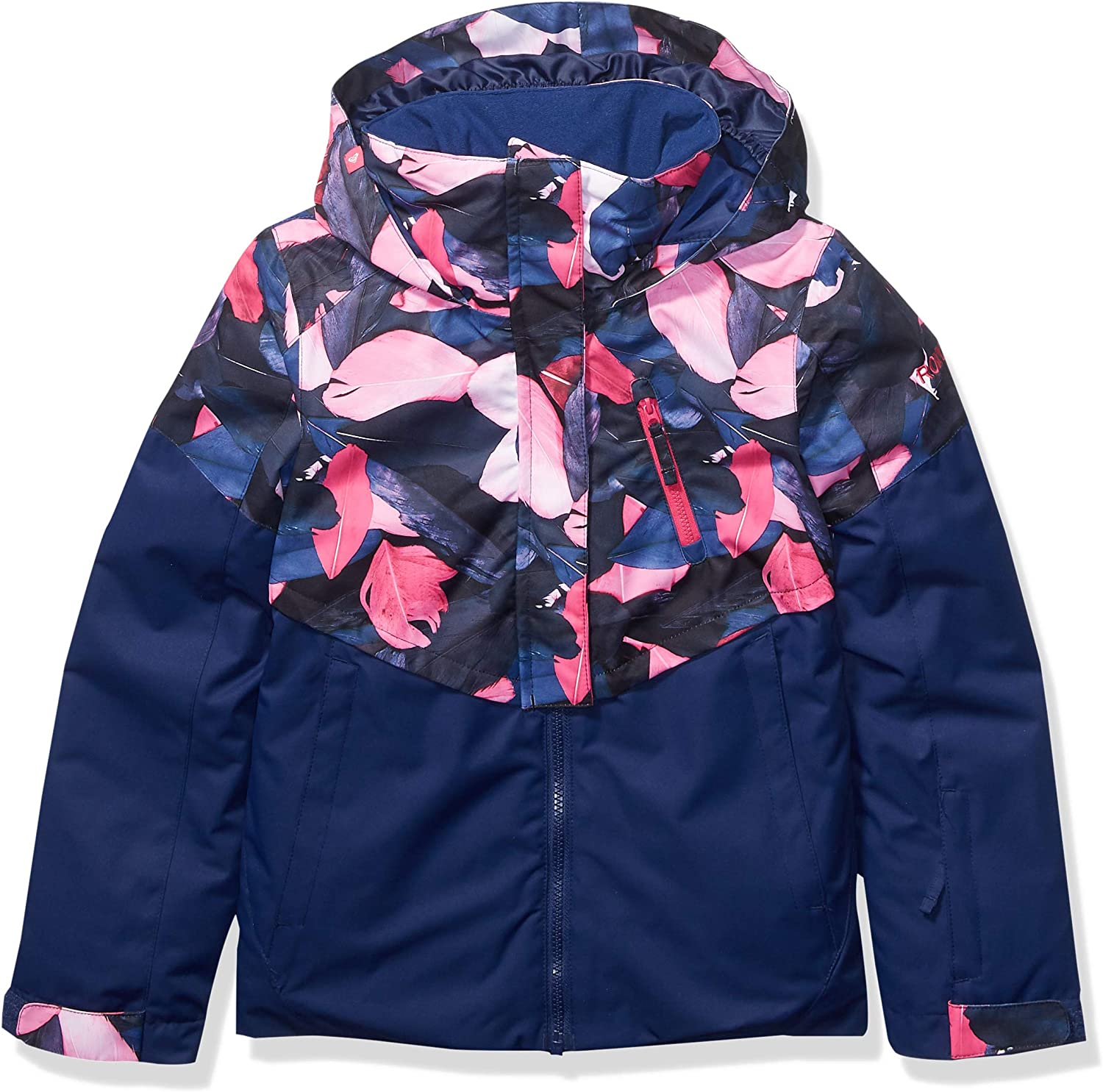 Ranking integrated 1st place Roxy Frozen Flow Girl Purchase Jacket