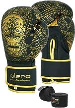 1 Paar KickBoxing Handschuhe Boxing Muay Thai Pouching MMA Training Half