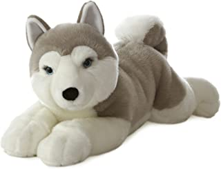 Aurora World Super Flopsie Yukon Husky Dog Plush, 27