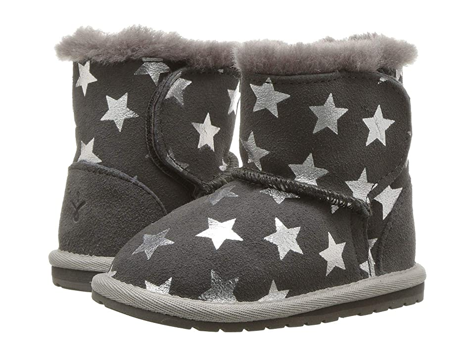 EMU Australia Kids Toddle Starry Night (Infant) (Charcoal) Kid