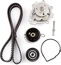 SCITOO Timing Belt Water Pump Kit Fit 2008-2014 Pontiac G3 Wave Saturn Astra Suzuki Swift+ Chevrolet Aveo Cruze Sonic Aveo5 4Cyl 1.6L 1.8L