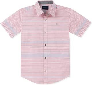 Boys' Big Stripe Short Sleeve Shirt