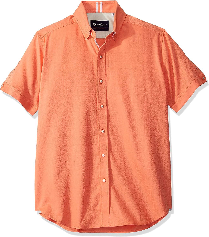 Robert gift Graham Men's Bozeman 5 ☆ very popular Shirt Woven S