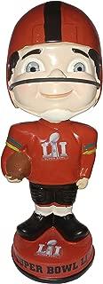 Forever Collectibles Super Bowl 51 Generic Vintage NFL Bobblehead Bobble Head - Atlanta Falcons vs. New England Patriots - Only 144 Produced - Super Bowl LI