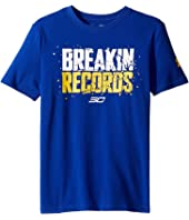 Under Armour Kids - SC30 Breakin Records Short Sleeve Tee (Big Kids)