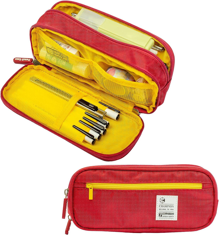 35% OFF Big Capacity Washington Mall Pen Case Pencil Po Storage Canvas Marker Holder
