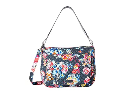 Vera Bradley Carson Shoulder Bag (Pretty Posies) Shoulder Handbags