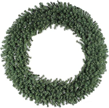 Vickerman Douglas Fir Wreath with 900 Tips and 4 Sections, 60-Inch