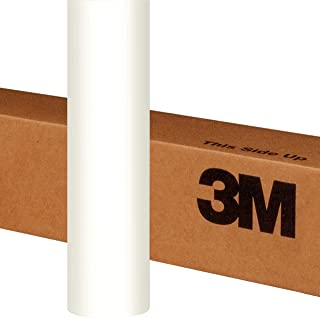 3M 1080 S10 SATIN WHITE 5ft x 1ft (5 Sq/ft) Car Wrap Vinyl Film