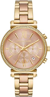 Michael Kors Women's Quartz Watch analog Display and Stainless Steel Strap, MK6584